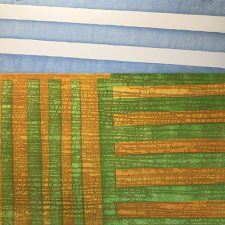 Agrarian - var. 19, 1/1, woodcut, 3'x3'