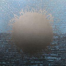 Burst - var. 132, 1/1, woodcut, 3'x3'