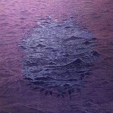Sea/Bloom - var. 16, 1/1, woodcut, 3'x3'