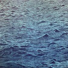 Seascape - var. 27, 1/1, woodcut, 3'x3'