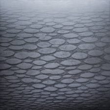 Silver Zumscape - var 1 1/1. woodcut, 3'x3'