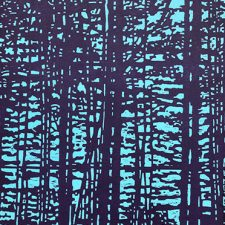 "Woodland Landscape X - var. 3a, L, 1/1, woodcut, 32"" x 24"""