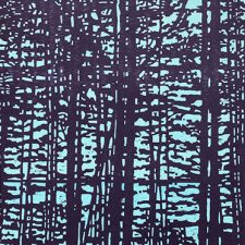 "Woodland Landscape X - var. 9, 1/1, woodcut, 32"" x 24"""