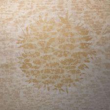 Zum/Bloom - Field, AP, 2/2, woodcut w/ tea, 3'x3'