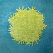 Zum/Bloom - var. 8, 1/1, woodcut, 3'x3'
