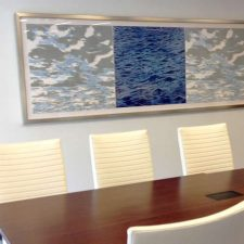 Ensemble: Clouds & Seascape. Corporate Installation, Raleigh, NC