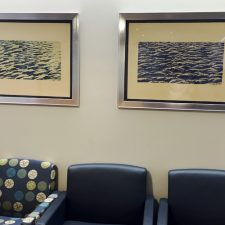 Seascape - var. B, 1/1 and Water Ripples, 1/1. Department of Child Psychiatry, NYU Langone Medical Center