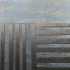 Agrarian - var. 23, 1/1, woodcut, 3'x3'