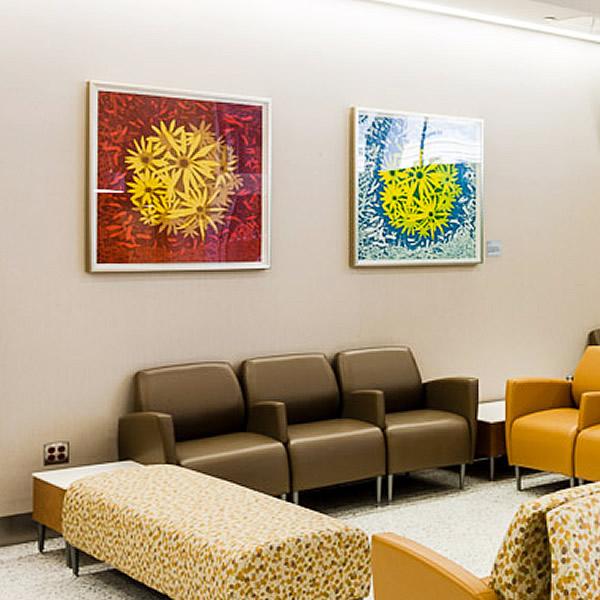 Eve Stockton Art Installation at NYU Langone Medical Center Art ...
