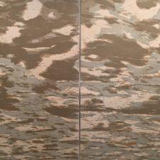 Clouds - var. J & var. K, 1/1, woodcut, (2) 3'x3'