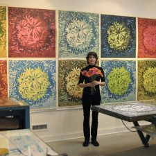 Bloom Wall - Center for Contemporary Printmaking