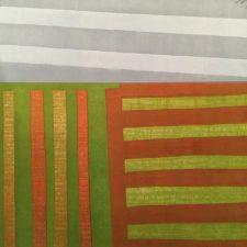 Agrarian - var. 15 (Fall), 1/1, woodcut, 3'x3'