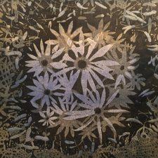 Bloom - var. 22, 1/1, woodcut, 3'x3'