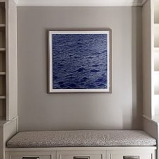 Seascape print, Washington, DC residence