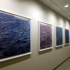 Seascape Variations, Josie Robertson Surgical Center, Memorial Sloan Kettering, NYC
