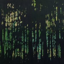 Woodland Landscape V, T.P. 7, 1/1, woodcut, 3'x6'