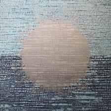 Burst - var. 142, 1/1, woodcut, 3'x3'