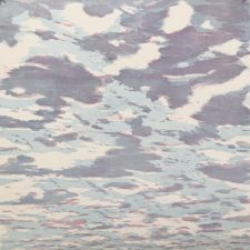 Clouds - var. 63, 1/1. woodcut, 3'x3'