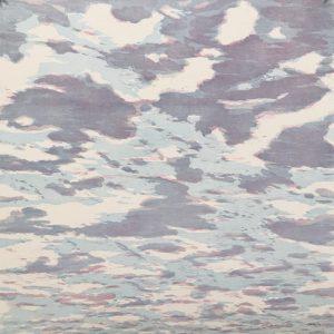 Clouds - var. 63, 1/1. woodcut, 3'x3'