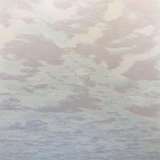 Clouds - var. 82, 1/1, woodcut, 3'x3