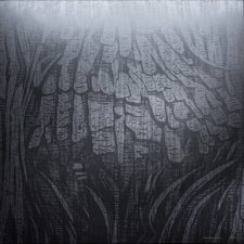 Silver Burl XI - var 1 1/1. woodcut, 3'x3'