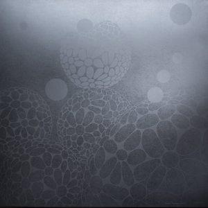 Silver Podscape - var 1 1/1. woodcut, 3'x3'