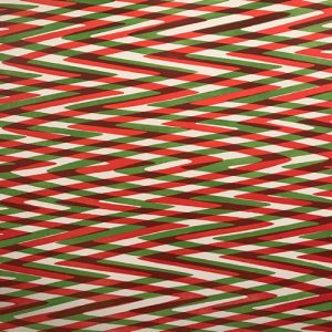 Waves - var. 8, 1/1. woodcut, 3'x3'