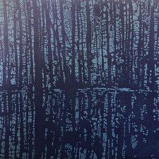 Woodland Landscape IX - var. 12, woodcut, 3'x3'
