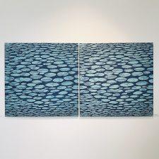 Zumscape II, 4/5 & 5/5, woodcut, 3'x3' ea.