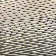Waves - var. 27, 1/1, woodcut w/ wc, 3'x3'