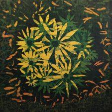 Bloom - var. 56, 1/1, woodcut, 3'x3'
