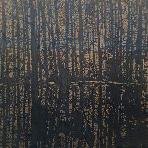 Woodland Landscape IX - var. 1, 1/1, tea-dyed paper
