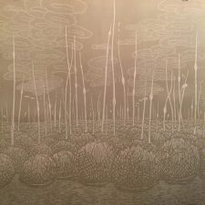 Podscape I, 1/5, woodcut, 3'x3'