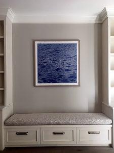 Seascape print, Washington, DC residence