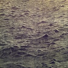 Seascape Diptych 4 (right panel), 1/1, woodcut, (1 of 2) 3'x3'
